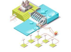 estudio sector electrico