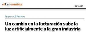 Grupo ASE alerta irregularidad facturacion distribuidoras recorte el economista